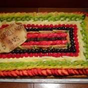 Miam le gâteau d'anniversaire