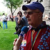 Jean-René et les médias!