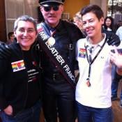 Avec nos amis d'HomoSFèRE et ASMF