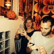 Ascension à la Prune Folle - Préparation des Selfies