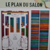 Le plan du salon