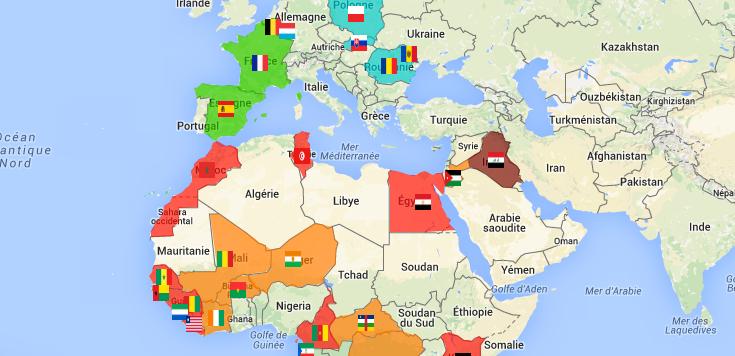 situation des LGBT dans les pays du footprint Orange
