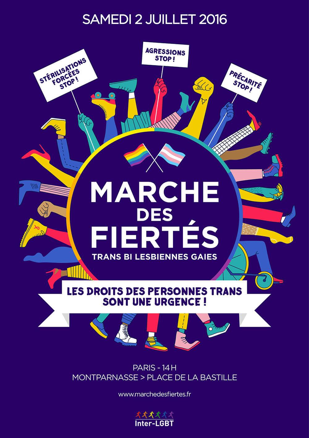 affiche marche Paris 2016