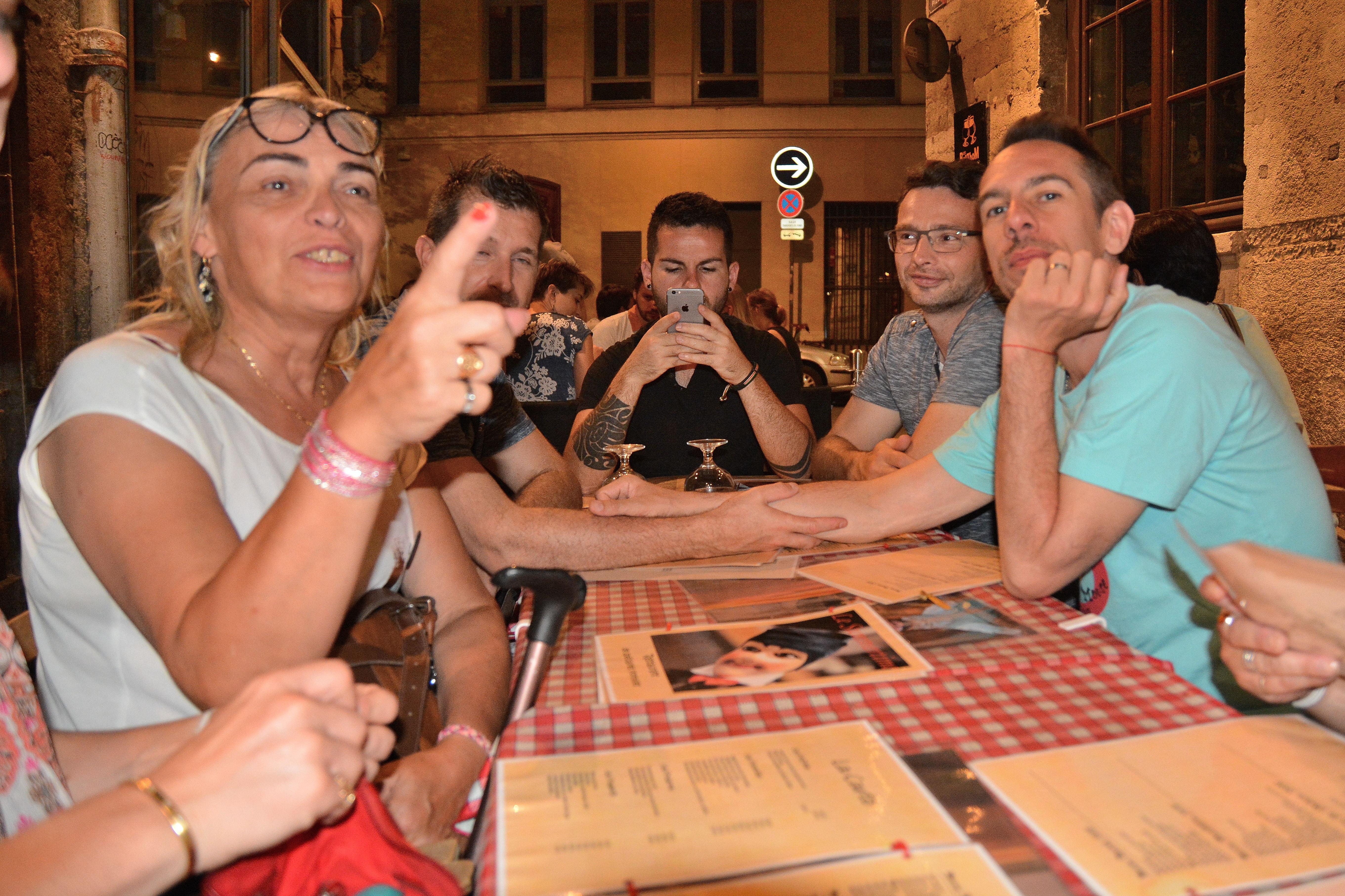 Repas du soir post Marche lyonnaise