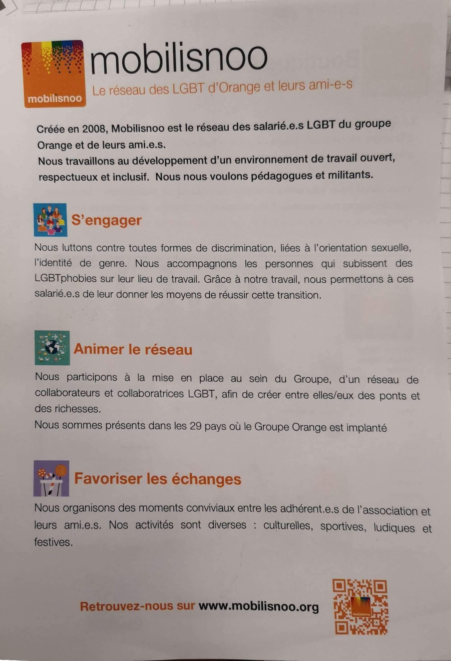 Flyer verso de soutien TGB Toulouse