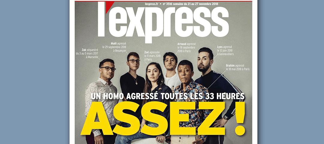 L'Express du 21 au 27 novembre 2018. L'Express Couverture