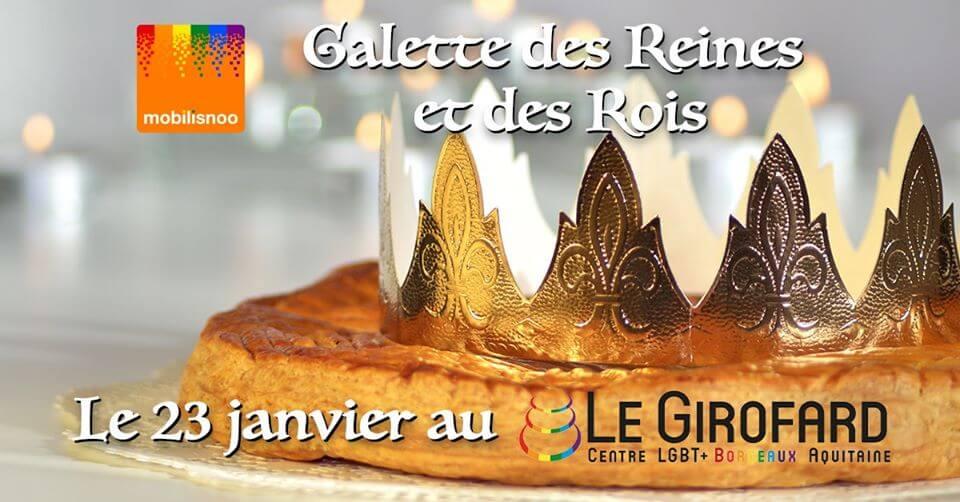 Galette des Reines et des Rois au Girofard à Bordeaux