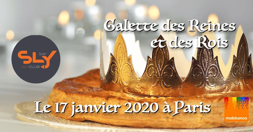 Galette des Reines et des Rois au SLY bar à Paris