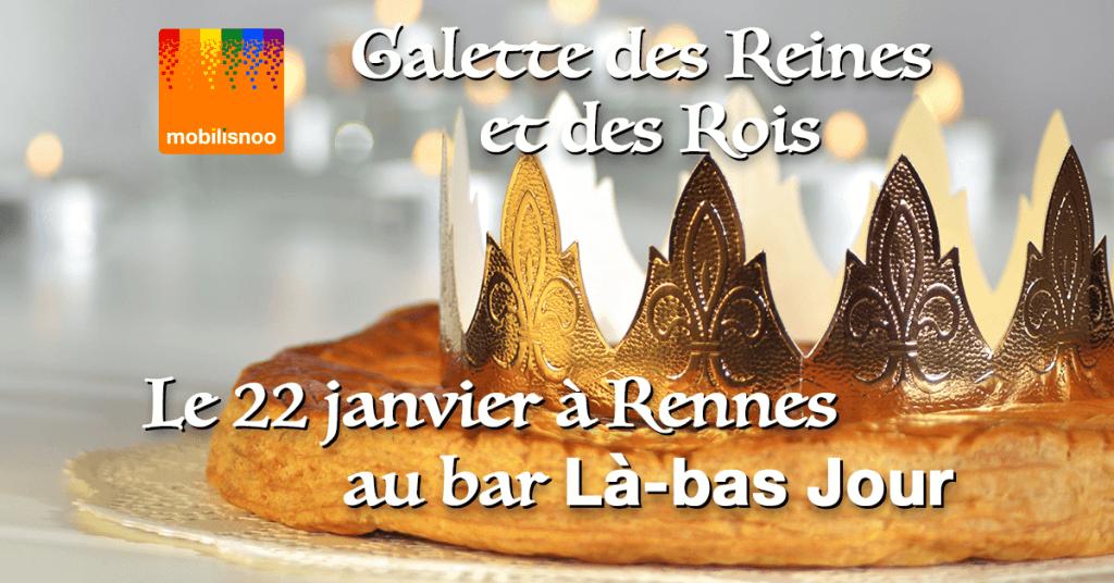 Galette des Reines et des Rois le 22 janvier à Rennes au bar Là-bas Jour