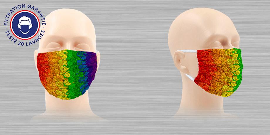 Masques Mobilisnoo Filtration garantie – Testé 30 lavages